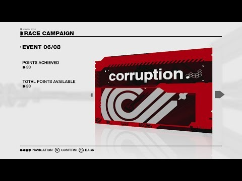 Wipeout Omega Collection | Fury Campaign | Corruption