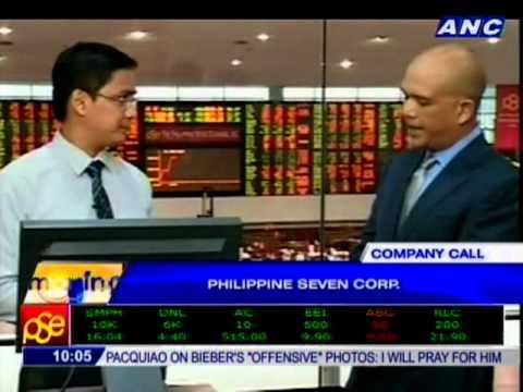 COMPANY CALL: Philippine Seven Corp.