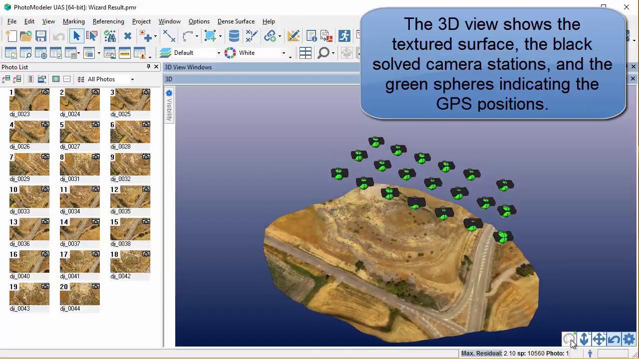 photomodeler uas uav drone project introduction tutorial youtube rh youtube com