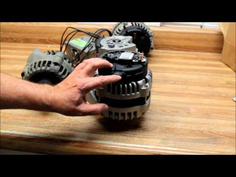 GM's AD 244 Series 2 pin vs. 4 pin Voltage Regulator. How to activate these alternators