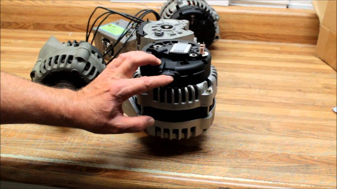 Gms Ad 244 Series 2 Pin Vs 4 Voltage Regulator How To Activate These Alternators 97 Chevy Alternator Wiring Youtube