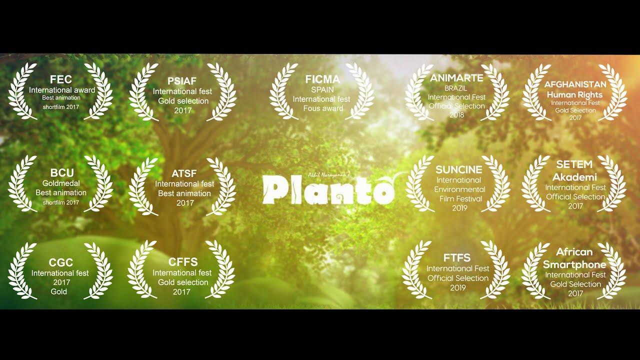 Animation short film PLANTO  | BCU Award winning  2017 | AISHKHI STUDIO - Akhil Narayanan