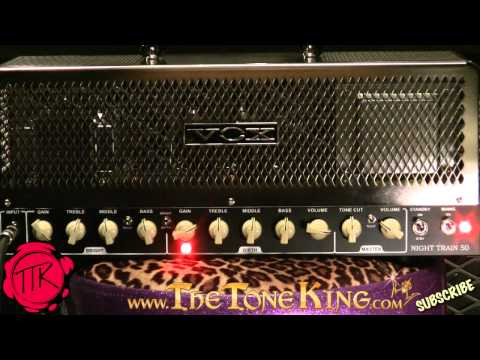 Can the Vox Night Train 50 do METAL?  Girth Channel Demo / Review ~ NightTrain!
