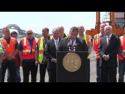 Governor Christie: Today Is A Great Day For The Metropolitan Area, Thanks To Reaching This Milestone