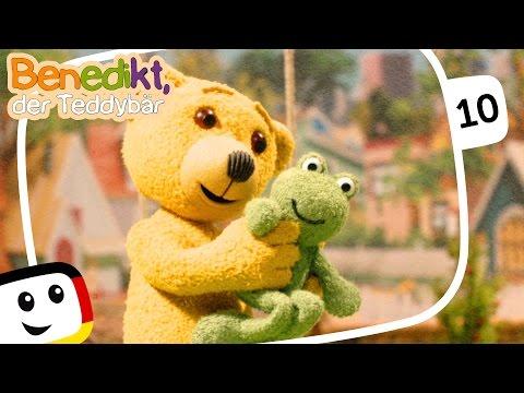"""Benedikt der Teddybär: """"Schwimmspaß"""" - neue Folgen - Animation Kinderfilme deutsch 2016"""