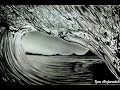 Cool realistic wave pencil drawing