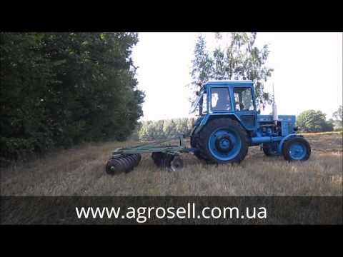 БДТ-3 и мТз-82 - YouTube