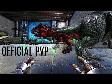 BUILDING AND HATCHING w/ GIGA Mutation - Official Ragnarok PVP (E24) - ARK Survival