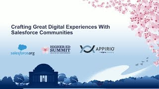Crafting Great Digital Experiences with Salesforce Communities