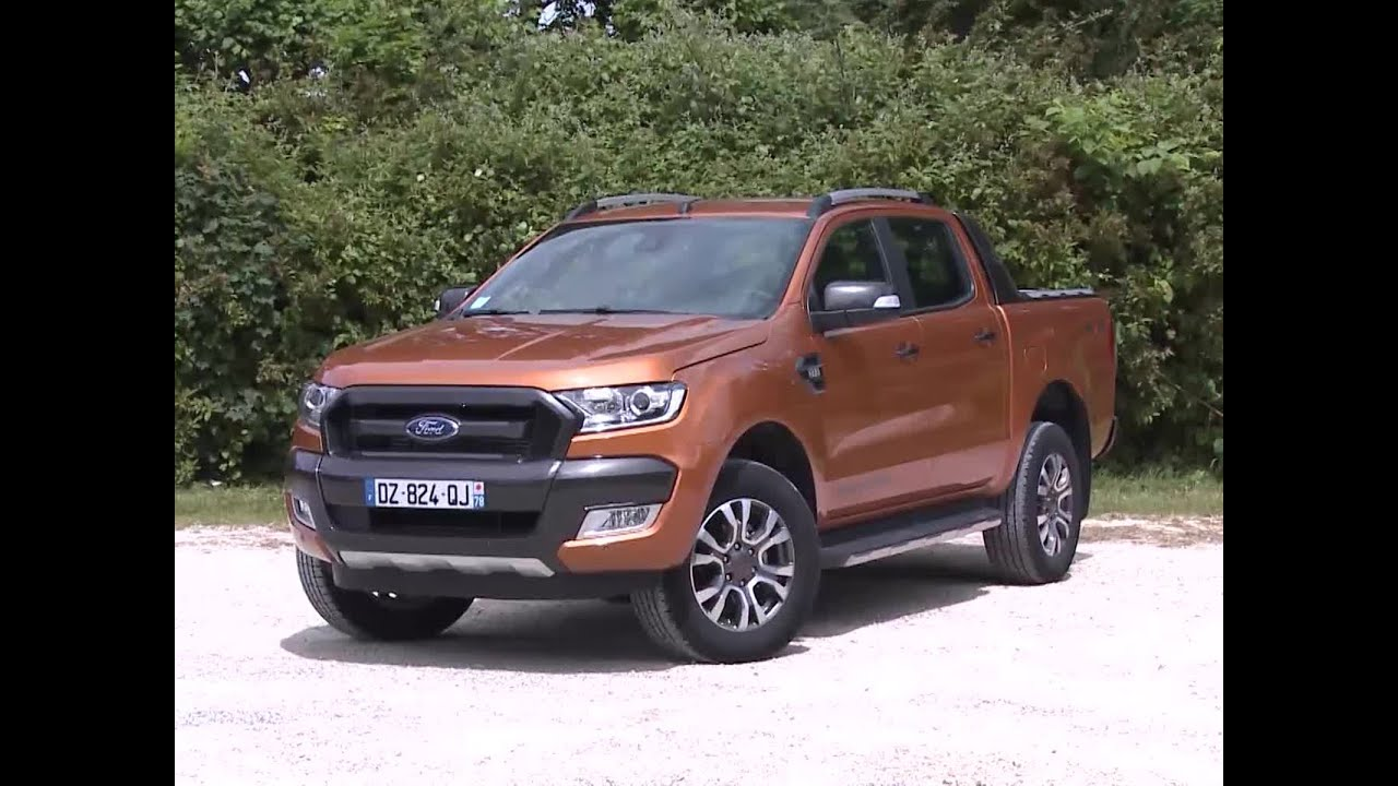 ford ranger double cabine 3 2 tdci 200 4x4 wildtrack 2016 youtube. Black Bedroom Furniture Sets. Home Design Ideas