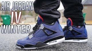 BEWARE BEFORE YOU BUY !!! AIR JORDAN 4 WINTER REVIEW AND ON FOOT IN 4K !!!