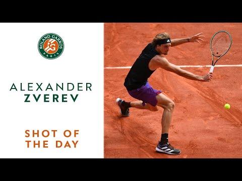 Download Shot of the Day #13 - Alexander Zverev I Roland-Garros 2021