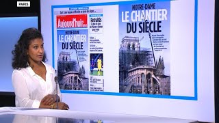 After the fire, now the question: How do we rebuild Notre-Dame?