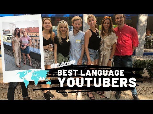 El día que conocí a los MEJORES YOUTUBERS DEL MUNDO de los idiomas y eché de menos a 2