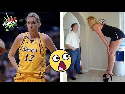 7 Mujeres gigantescas que no creerás que Existen |  DeToxoMoroxo