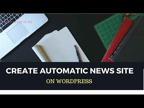 How To Make a News Site on Wordpress - Earn 200$ Monthly
