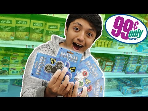 99 CENT STORE FIDGET SPINNERS!! (UNBOXING)
