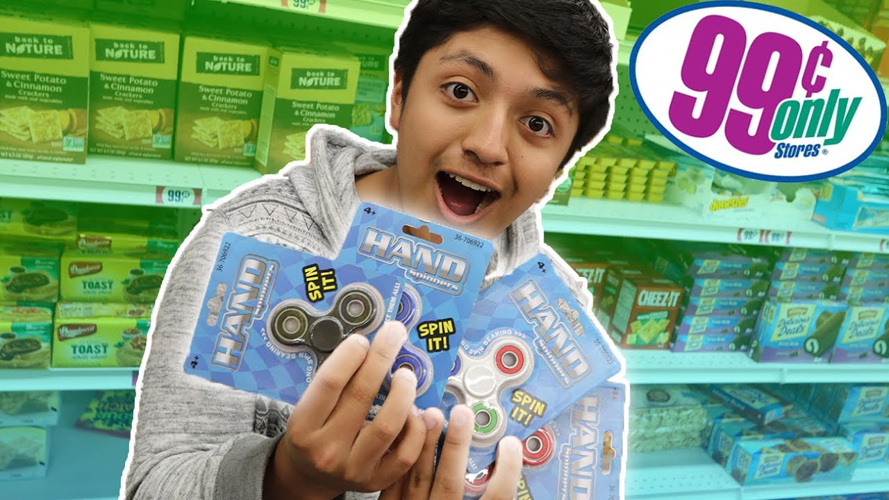 99 CENT STORE FIDGET SPINNERS UNBOXING