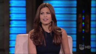 Eva Mendes on Lopez Tonight 2011 (HD)