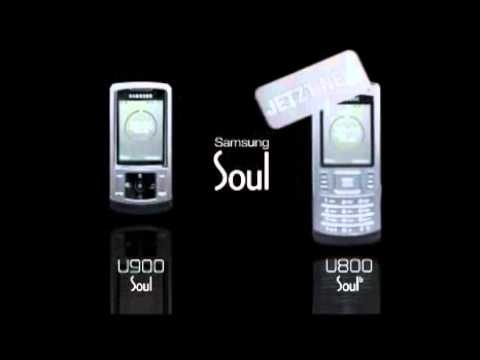 Samsung Soul U900 and U800 Commercial
