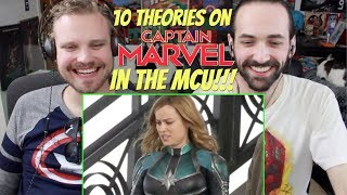 10 THEORIES About CAPTAIN MARVEL'S Future In The MCU - REACTION & ANALYSIS!!!