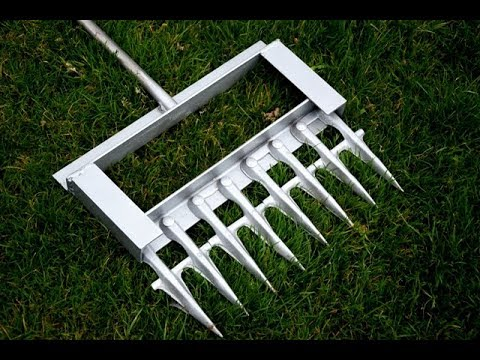 DIY | How To Make A Lawn Aerator
