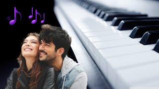 KARA SEVDA-чёрная любовь игра на пианино.Обучение