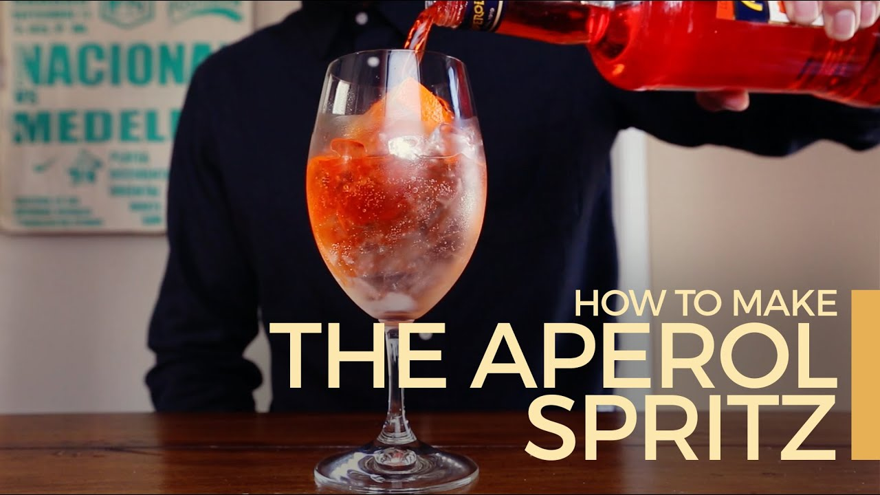 how to make an aperol spritz 60 second cocktails youtube