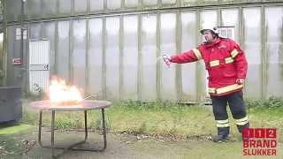 112 Brandslukkeren giver dig og din familie tryghed, både i hjemme og bilen!