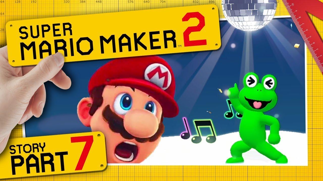 Download SUPER MARIO MAKER 2 👷 #7: Disco über den Wolken mit dem Sound-Frosch