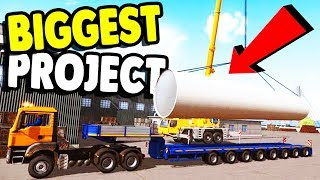 BIGGEST Building Project EVER ATTEMPTED | Construction Simulator 2015 (PC ONLY)