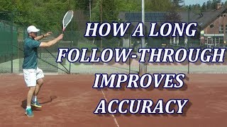 Do Long Follow-Throughs On Tennis Forehands And Backhands Really Work?