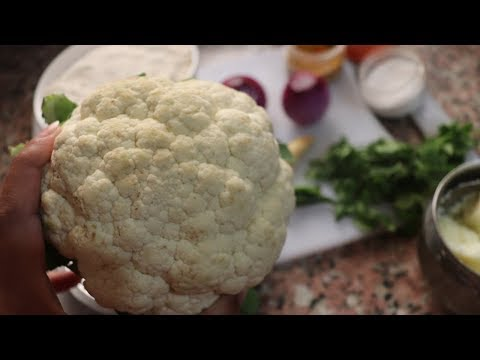 गोभी का पराठा सभी पराठो में राजा - Gobi Paratha - Gobi Masala Paratha-Cauliflower Paratha