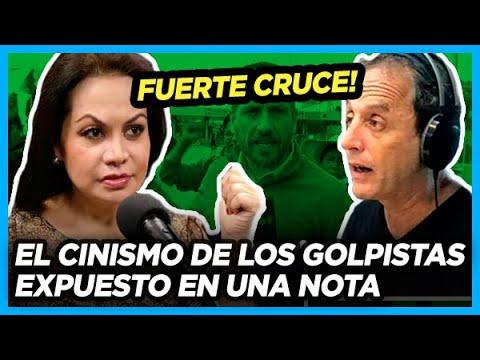 CINISMO La nueva Ministra de comunicación de Bolivia negando la persecución a periodistas argentinos