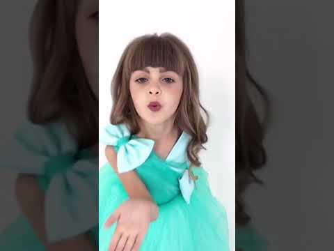 Нарядное бальное платье для девочки.