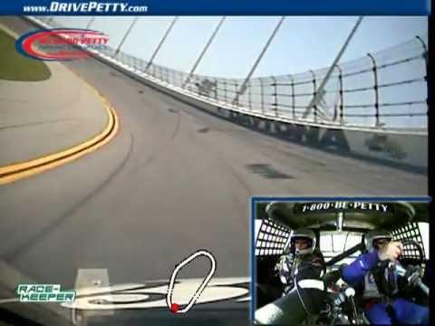 Richard Petty Driving Experience - Daytona - James Goes 164.19 Mph