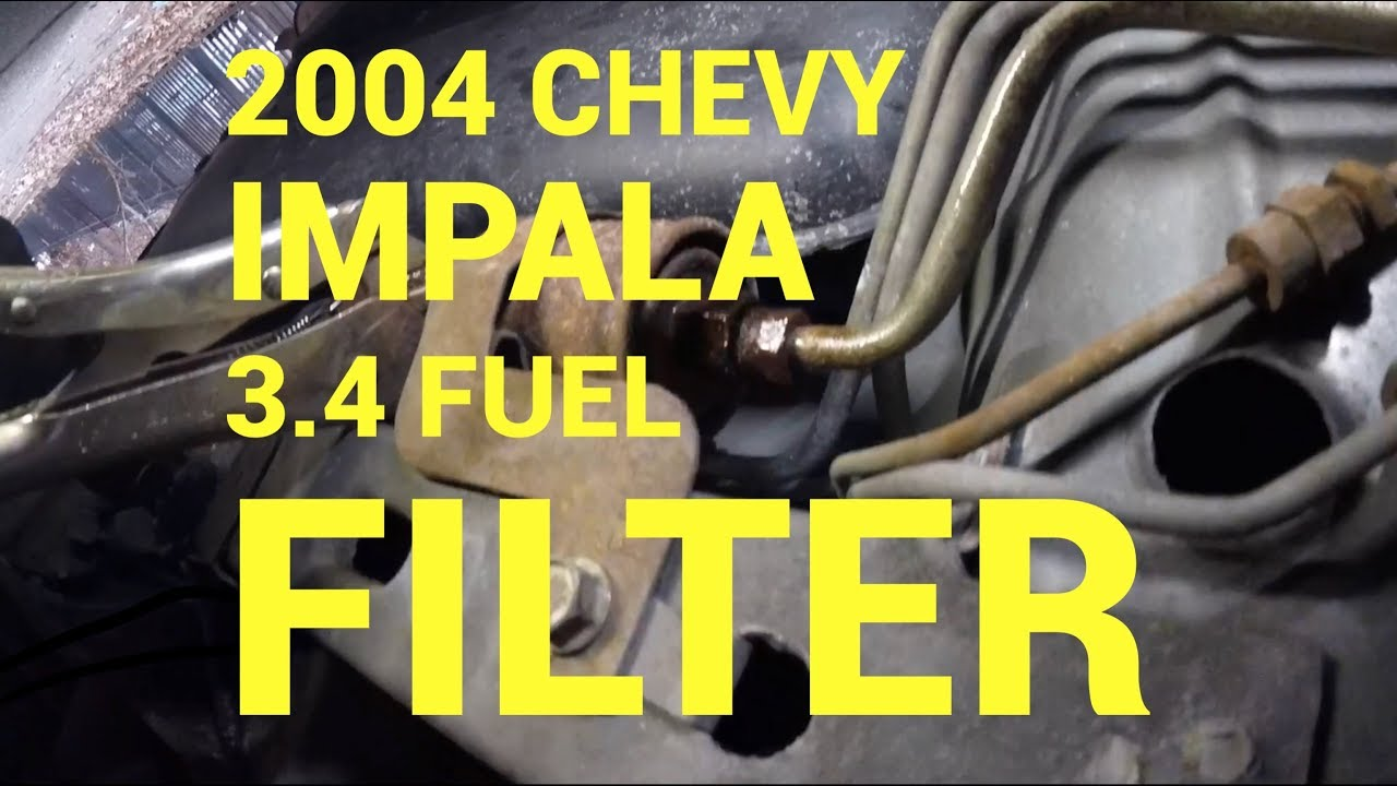[TVPR_3874]  2004 Chevy impala fuel filter replacement : Philadelphia - YouTube | 2007 Impala Fuel Filter |  | YouTube