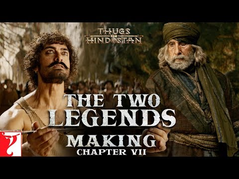 The Two Legends | Making of Thugs Of Hindostan | Chapter 7 | Amitabh Bachchan | Aamir Khan