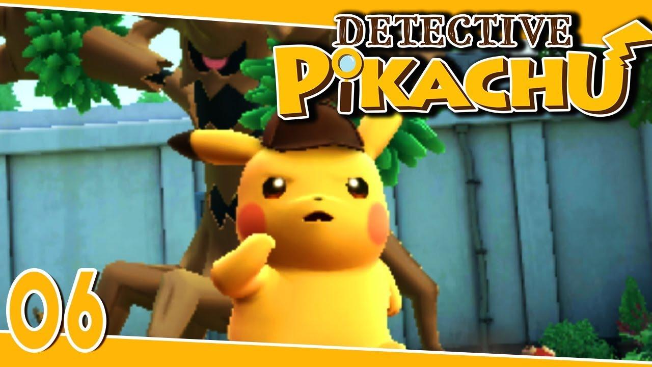 Detective Pikachu Part 6 Trevenant Attacks Gameplay Walkthrough