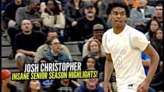 Josh Christopher Has an NBA READY SCORING PACKAGE!! INSANE Senior Season Highlights!