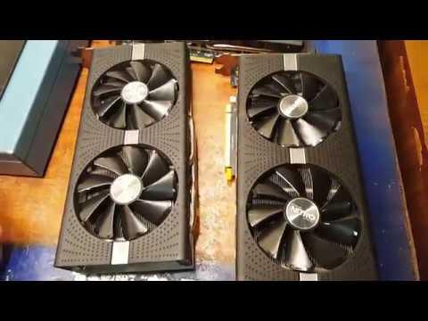 Типовые поломки видеокарт Radeon RX 470/480 570/580 после майнинга