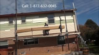 Vinyl Siding Repair in Columbus Ohio - 877-632-0045