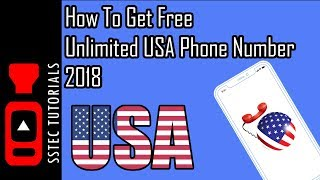 How to get Free USA Phone Number 2018 | Verify Any Online Account ✔️