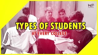 Types of students in every college || warangal diaries || every student must watch!