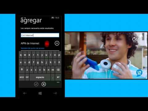 Configuración APN para equipos Windows Phone from YouTube · Duration:  4 minutes 3 seconds