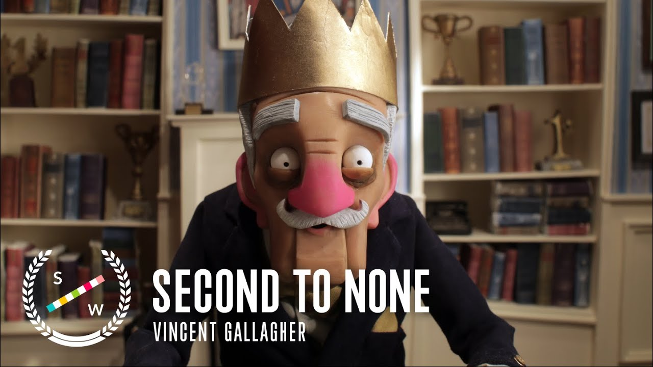 Stop Motion Dark Comedy About Old Age Rivalry | Second to None