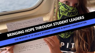 Creating student leaders for our oceans