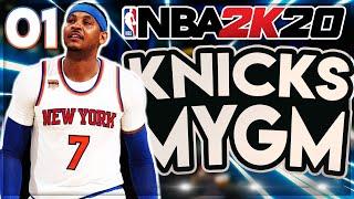 Meeting Our Team! NBA 2k20 MyGM NY Knicks Ep 1