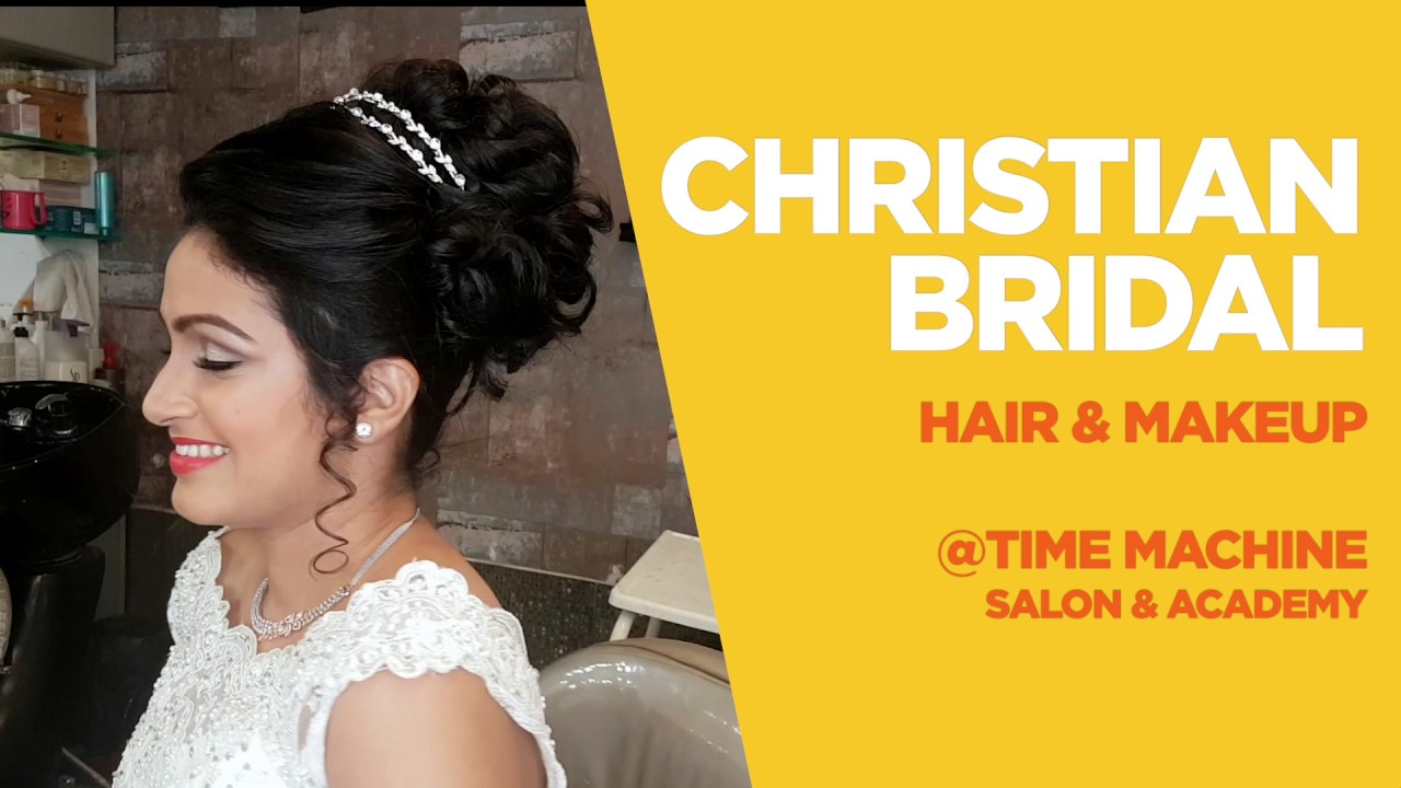 christian bridal hair and makeup - youtube
