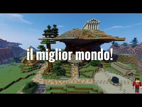 IL MIGLIOR MONDO MAI CREATO IN MINECRAFT + DOWNLOAD !